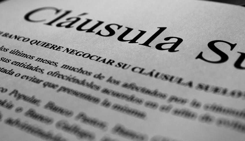 El banco quiere negociar su cl usula suelo r a abogados for Clausula suelo badajoz